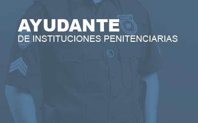 Ayudante Instituciones Penitenciarias